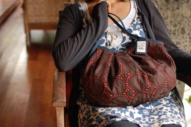 丸刺繍(ダークブラウン)定番サイズ
